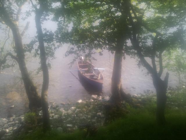 boat below
