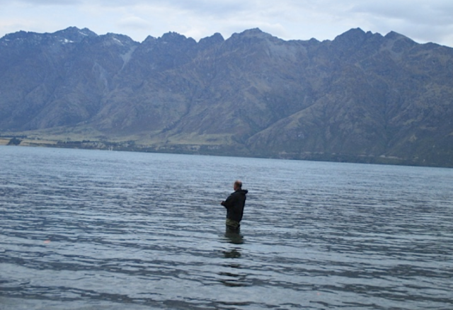 Harry gets his feet wet in Wakatipu